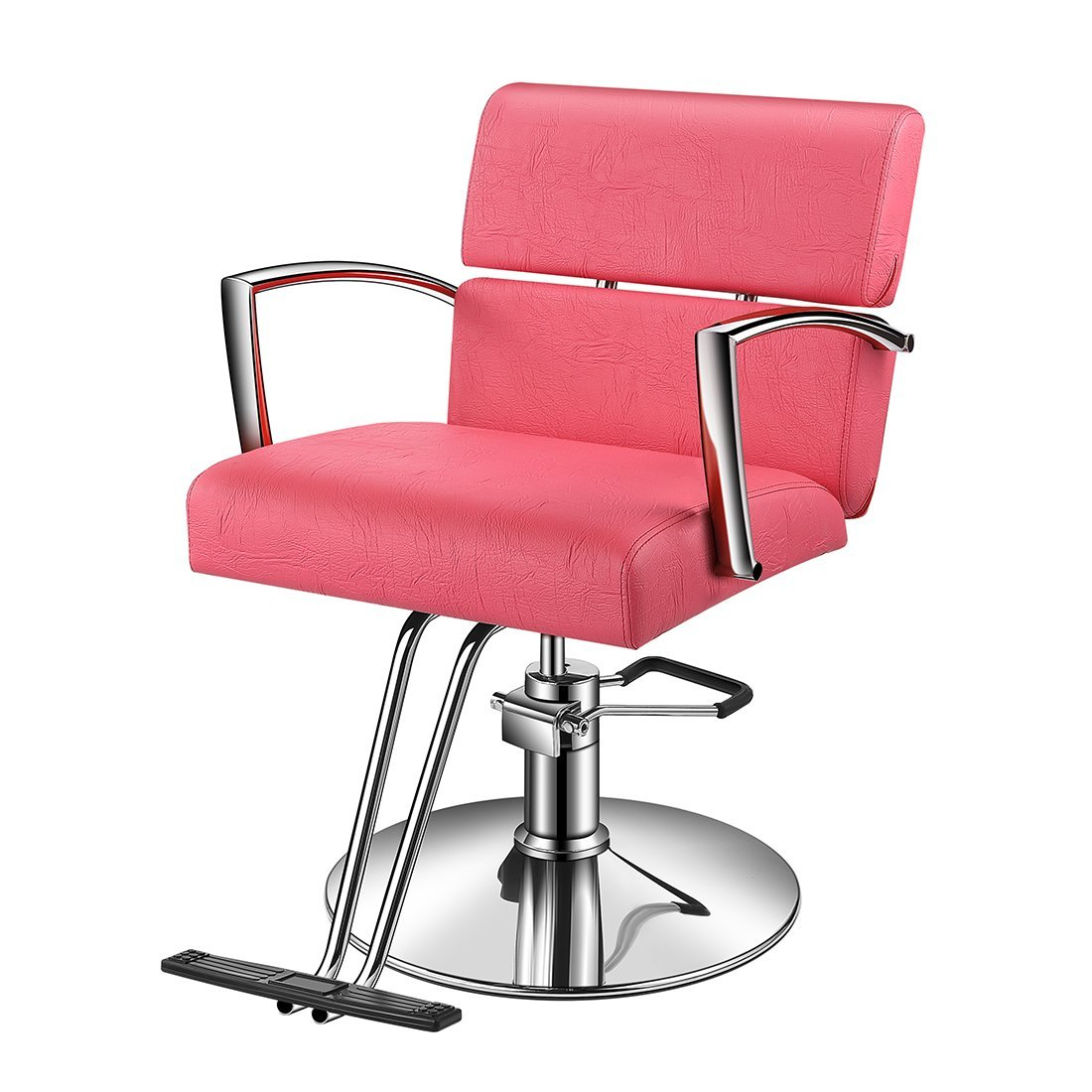 Outstanding Buy Baasha Hair Salon Chair Red With Hydraulic Pump Red Gmtry Best Dining Table And Chair Ideas Images Gmtryco