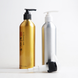 Eco friendly design 500ml 250ml aluminium spray shampoo bottle