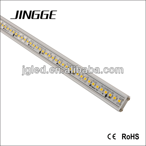 JINGGE Patented Ultra bright smd3835 led rigid strip 180pcs/m