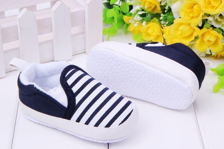 אופנה האביב&סתיו התינוק נעליים עם פסים הזרקת הפעוט, לפעוטות נעליים באיכות טובה מותק נעליים