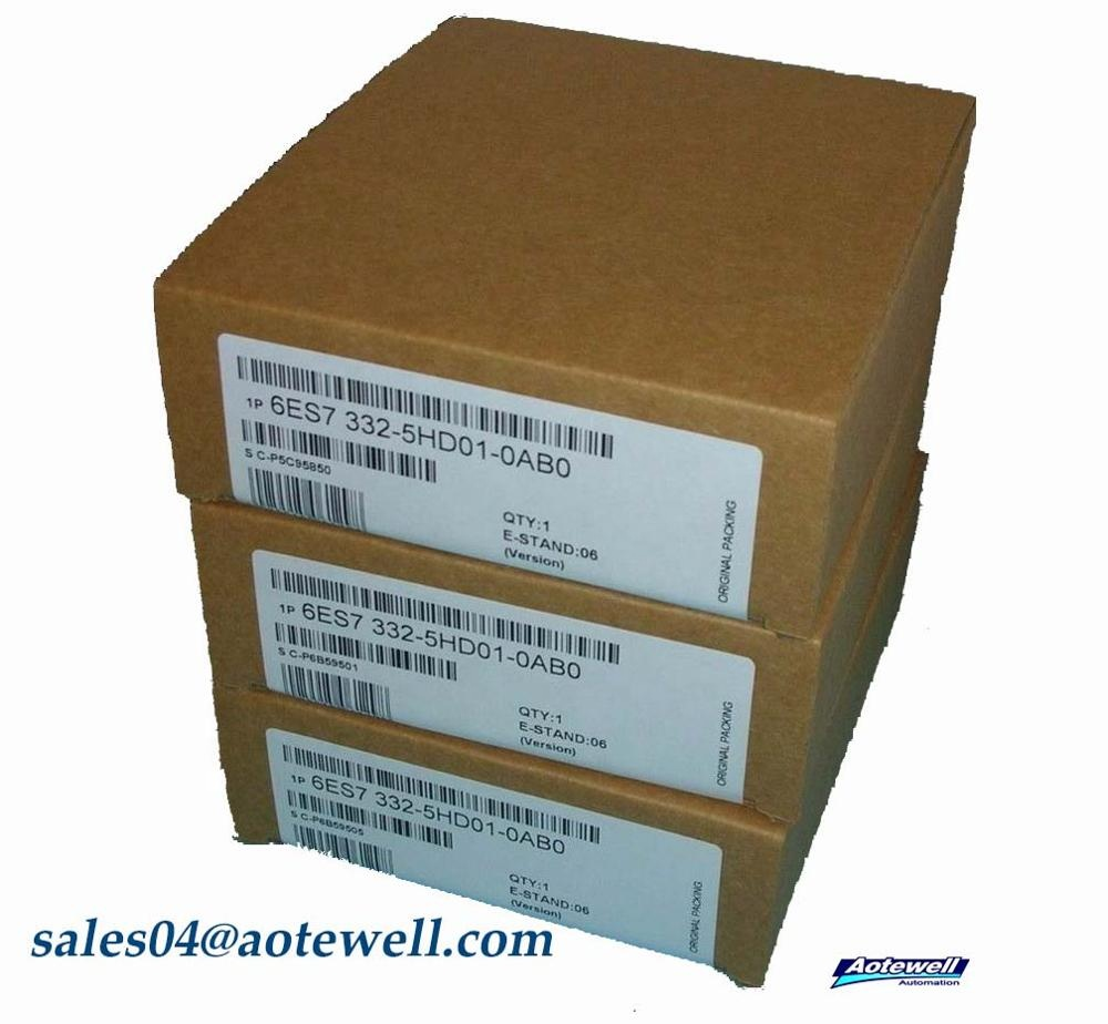 ONE Siemens 6ES7332-5HD01-0AB0 6ES7 332-5HD01-0AB0 SM 332 Output NEW IN BOX