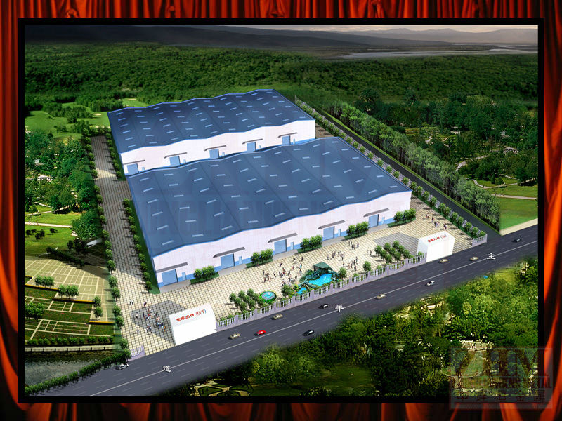 Prefabricated Cost-effective flat roof steel building
