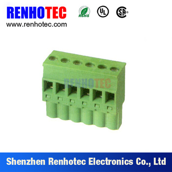 12a Terminal Block Connector Plug Battery Leaf Spring Electric ...