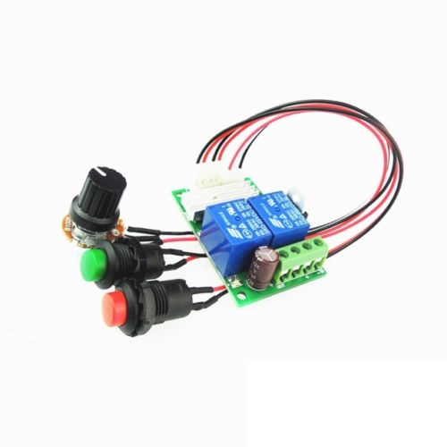 DC 6//9//12//24V 3A DC Motor Speed Controller Forward Backward Reversible Switch