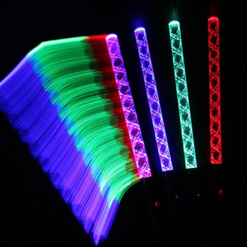 2017 Hot New Products Concert Light Stick Colorful Flashing Light Stick Led Glow Stick Magic Wand Concert Decoration
