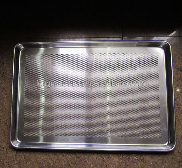 LM - BT02 / Best selling 1.0 mm bread perforated baking tray