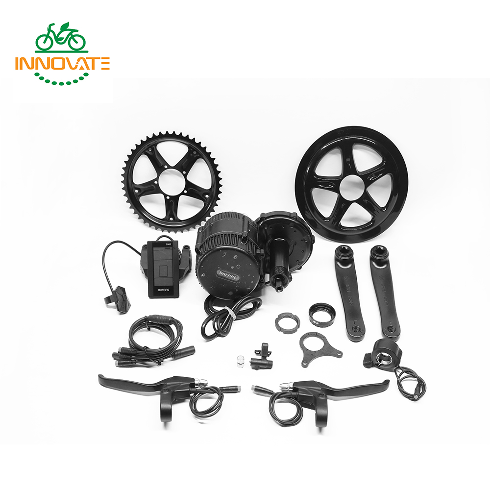 8Fun/ Bafang motor kit BBS02 48v 750w with C961/C965 Black Color display for E-bike