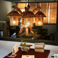 Personality design lighting Malaysia with 5-house shade decorat pendant lamps