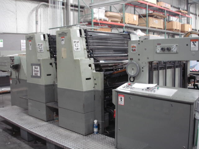 Miller Tp 36s-2 Printing Machinery