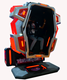 Top quality 360 degree rotating 9d vr flight simulator 9d roller coaster 360 vr chair