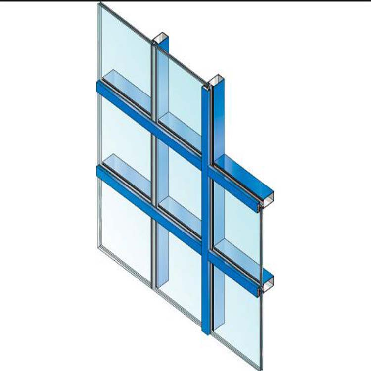Curtain Wall Installation Accessories 30mm Thickness