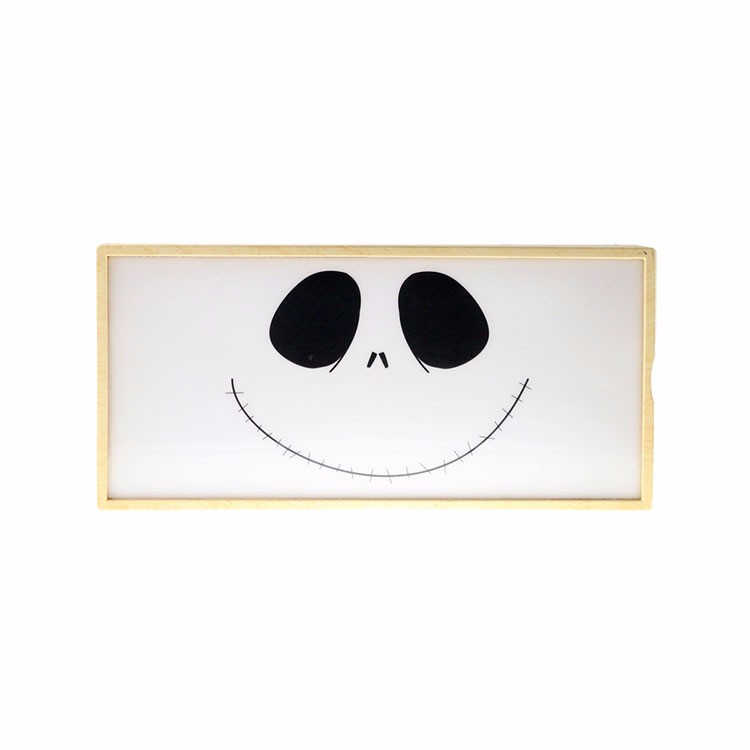 Smile poster lightbox 6AA battery powered LED cinematic light box with 10 posters
