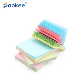 Sticky notes pad self adhesive memo pads sticky notes paper notes(BLY8-0012WB)