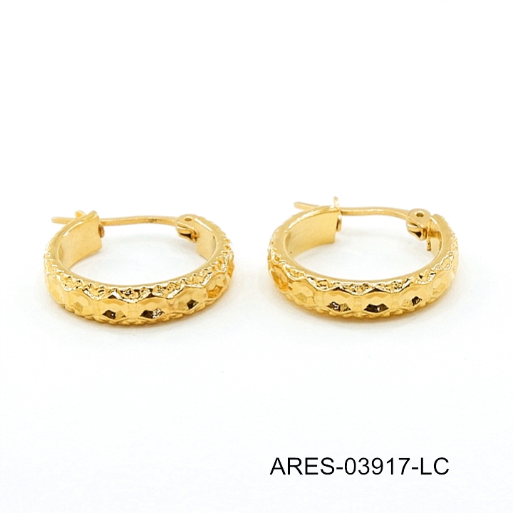 High Quality Arui Gold Ear Tops Designs New 2017 Latest Earring