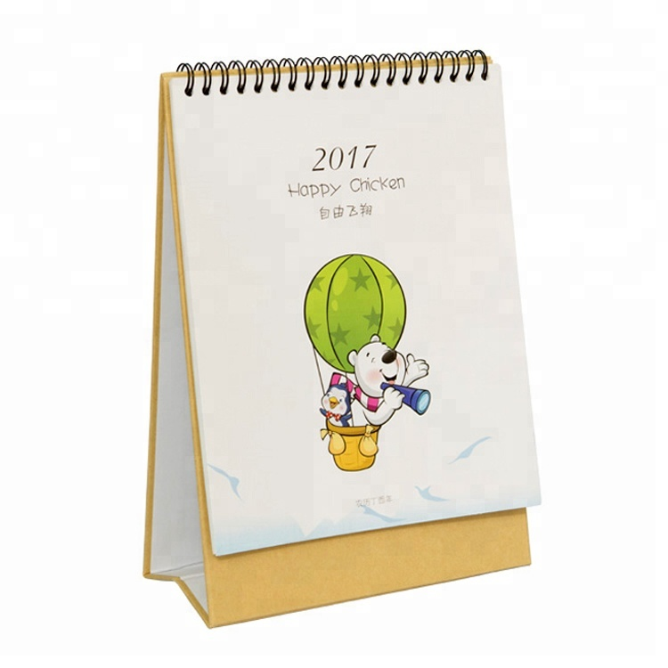 Wholesale Eco-friendly Custom Design Wall Calendar China Cheap Desk Calendar <strong>Printing</strong>
