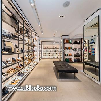 Oem Retail Shoes Shop Interior Counter