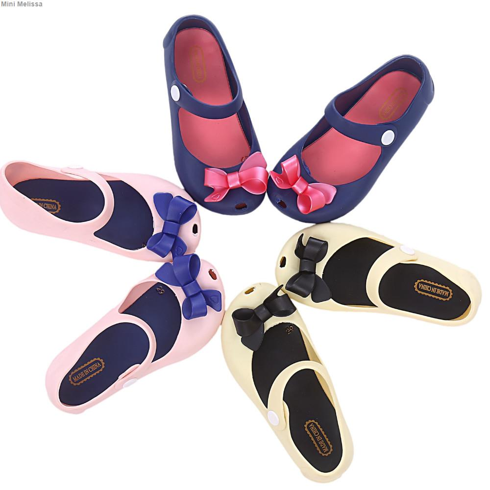 2c15650260cb9 Get Quotations · Mini Melissa 2016 rain Shoes For kids New Limited Strap  Baby Rubber Cute Bow Sandals girl