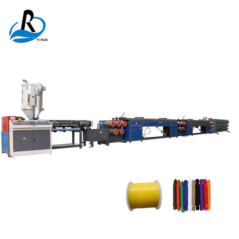 Brandneuer Extruder zur Herstellung von Nylon-Trimmer-Filamentlinien-Fasermaschinen