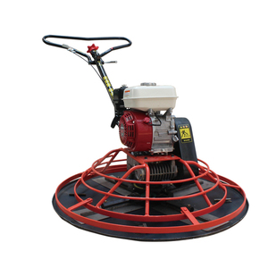 factory direct sale walk behind petrol power trowel machine high quality pavement power trowel concrete screed power trowel