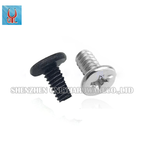 stainless steel fastener Cross recessed raised countersunk wafer head machine screws