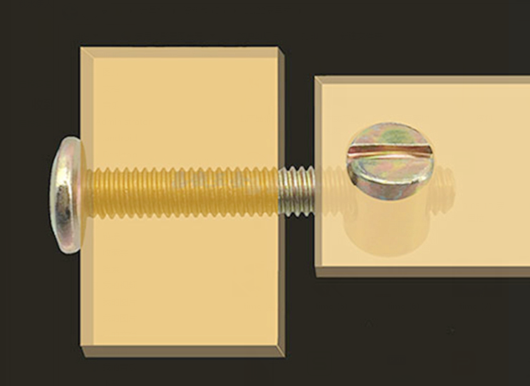 जोड़ने फिटिंग मिश्र धातु कनेक्टर कैम ताला बांधनेवाला पदार्थ के लिए लकड़ी फर्नीचर