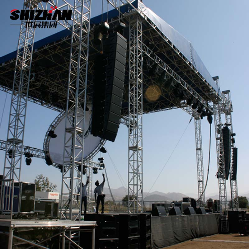 Hot sale portable aluminium outdoor concert <strong>stage</strong>