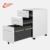 0.6mm steel China Modern Office Furniture 3 Drawer Locking Mobile  File Cabinet