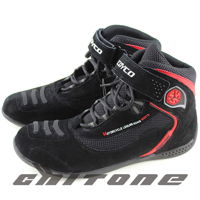best sneakers 4e816 aaf73 Buy Motorcycle boots motocross boots racing moto shoes sport mens shoes moto  racing speed waterproof,windproof adult unisex black in Cheap Price on ...