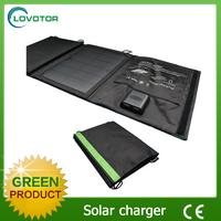 Foldable solar charger usb 5V 11W Sunpower panel charging