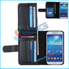 BRG-2014 hot selling belt clip case for s4,wallet design for Samsung galaxy s4 leather case