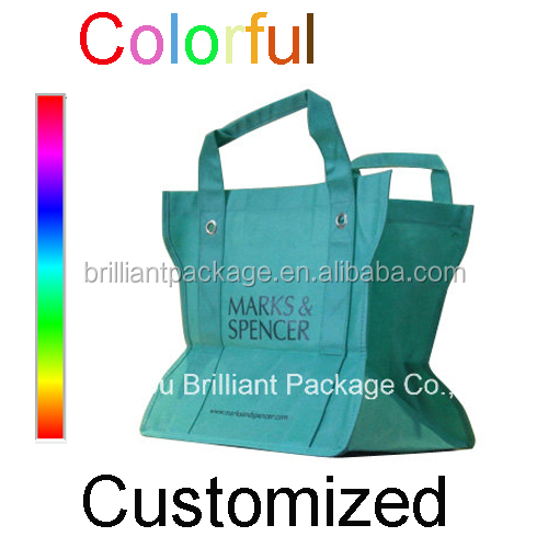 wholesale Cheap classical nonwoven Plain Shoulder tote Bags