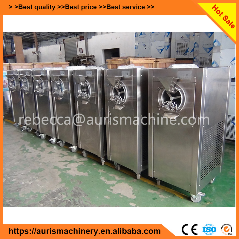 Automatic high capacity Hard ice cream batch freezer for sale