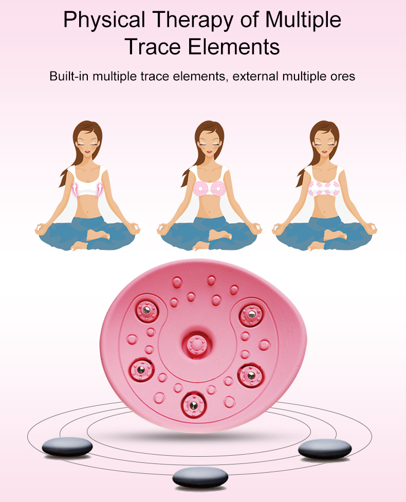 Female Electric beautiful enhancer boobs care hot big breast enlargement machine vibrating massager breast care