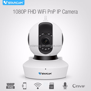 VStarcam 1080P home use night vision 18 months warranty moving ip camera