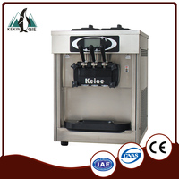 Desk Top Soft Serve Ice Cream Machine for Yogurt Store and Coffee Store