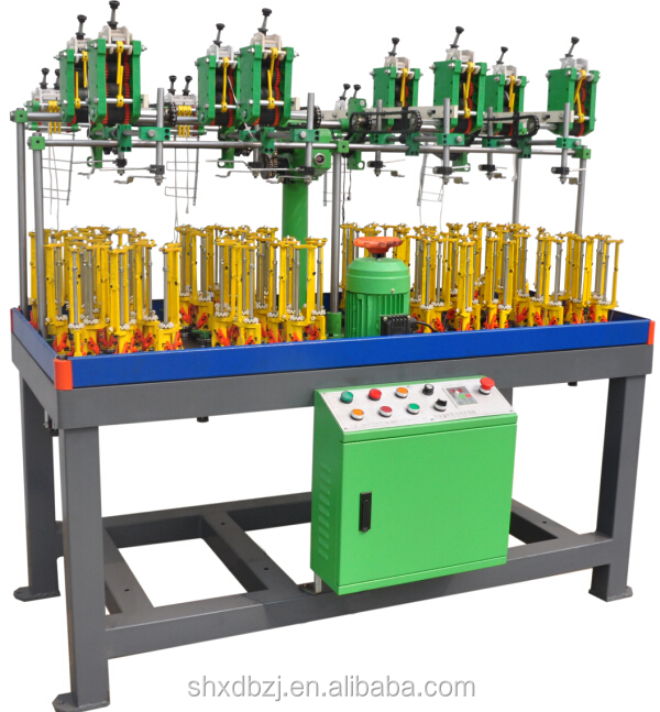 High speed elastic flat cord making machine