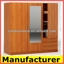 particle board furniture/Melamine wooden bedroom closet