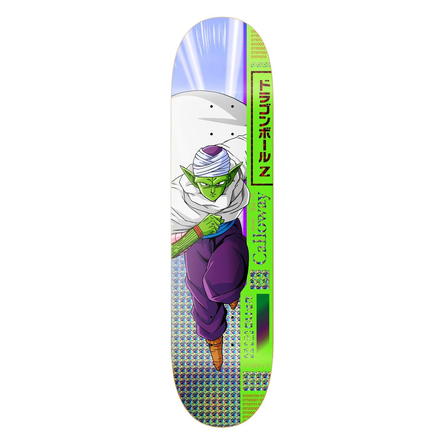 Primitive x Dragon Ball Z Calloway Piccolo Deck 8.0""