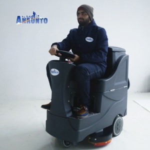 New Design High Quality Auto Ride On Floor Scrubber
