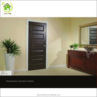 black walnut veneer doors design bedroom door design