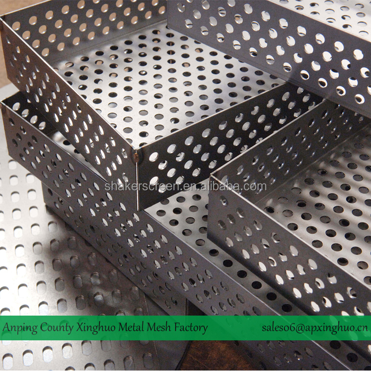 Alibaba Hot Selling Metal Mesh Perforated Tray