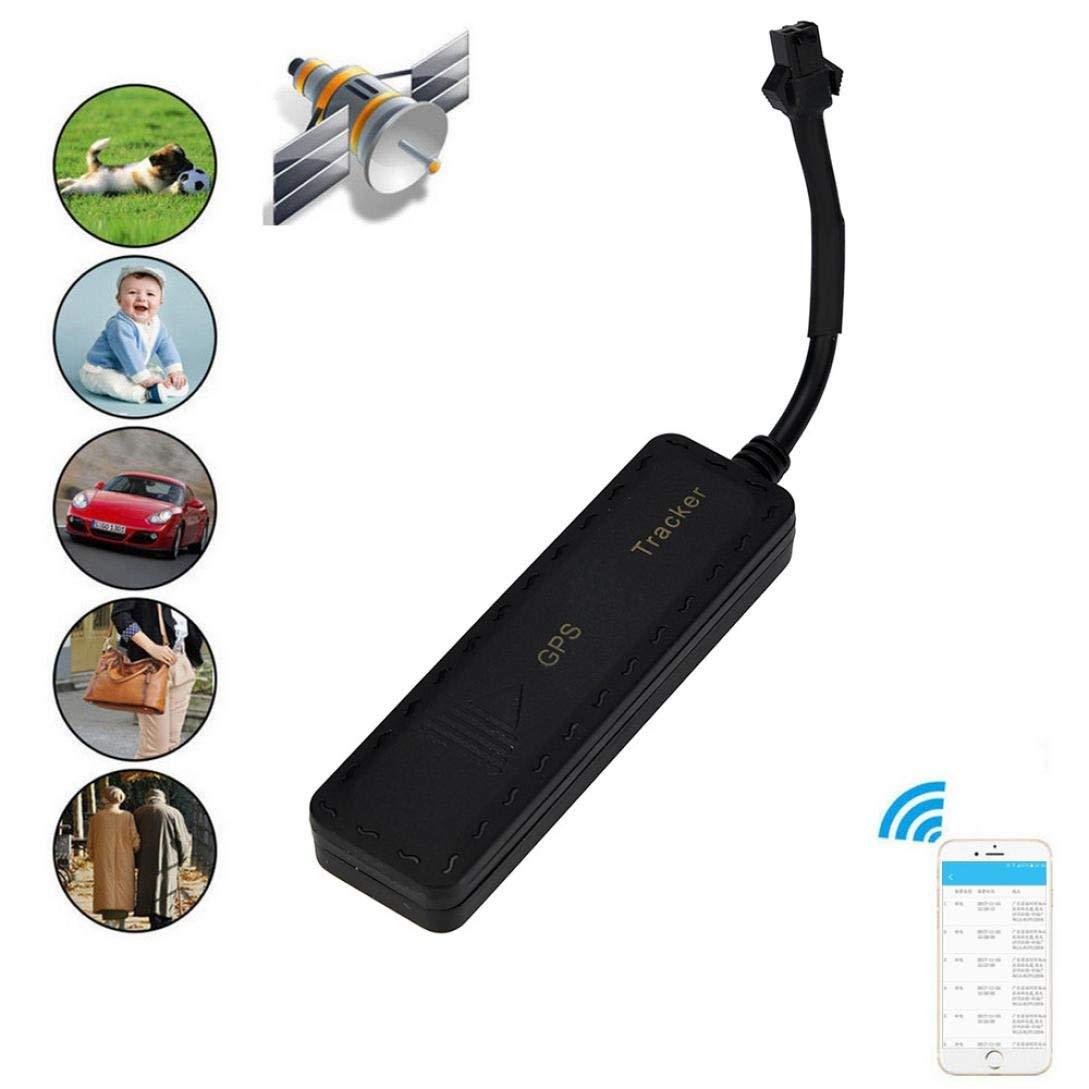 "Gotd Mini Tracker Global Locator Real-time Vehicle Bluetooth Car GSM/GPRS/GPS Tracking Device G900 3.3x0.9x0.5"" Black"