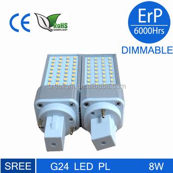 2 Buy Led Remplacent G24d G24 L'ampoule 26 Plc Broches 3 W Lampe wPn0k8OX
