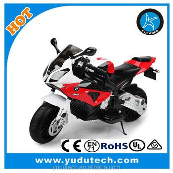 12v Licensed Bmw Rs1000 Bike With Two Motors Eva Tires Kids
