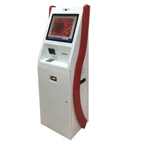 19 inch Customized ATM payment solution Touch panel self service machine automatic printer cash/bill acceptor pay LCD kiosk
