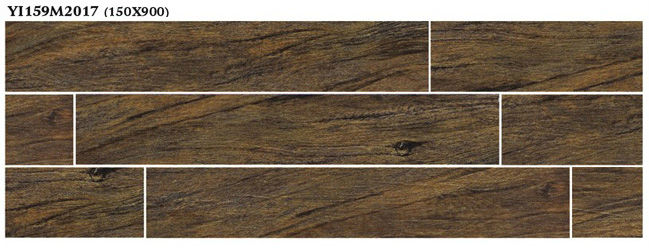 Wood types of homogeneous tiles