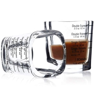 square shot glass 70ml short wine glass cup