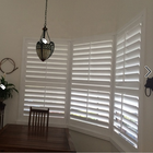 Window Cover Decorate Basswood White Plantation Shutter
