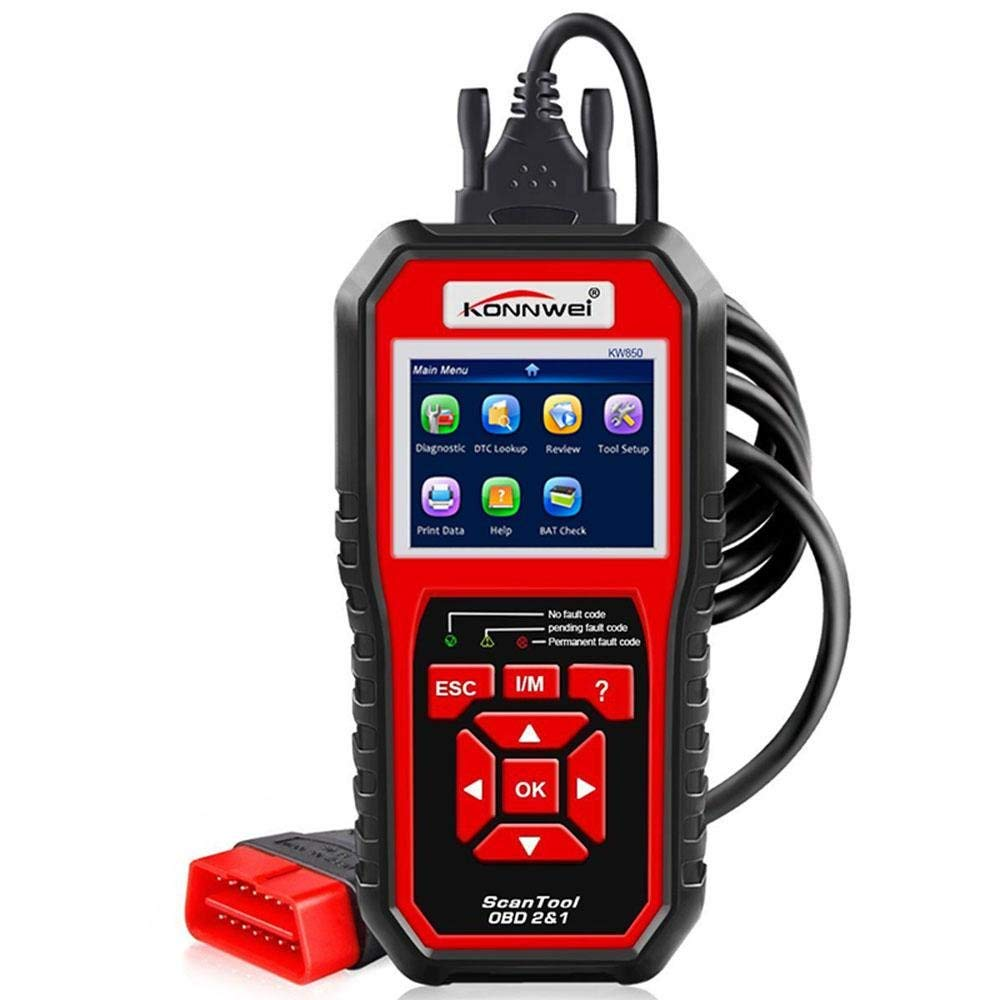 Get Quotations · Aolvo Konnwei KW850 Scanner, Auto Diagnostic Code Scanner  Pro EOBD/O BD2 Vehicle Engine