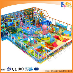 Newest invention manufacture of Domerry indoor kids playground
